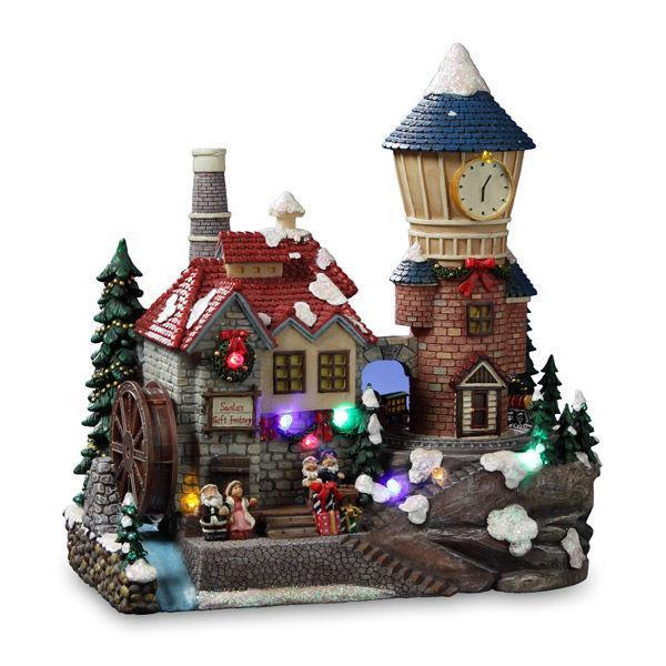 Santa's Lighthouse Village