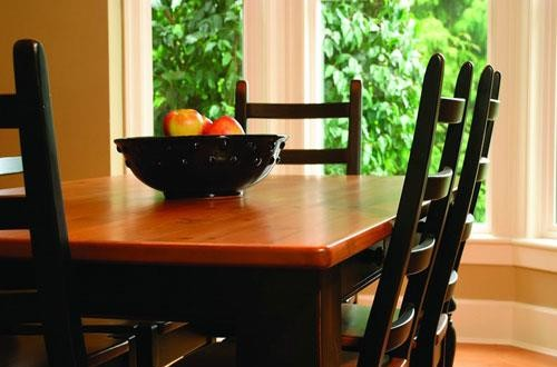 Kootenai Moon Furniture Dining Room Furniture, solid wood, pine table, dining bench, Canadian made, solid wood chairs, buffet