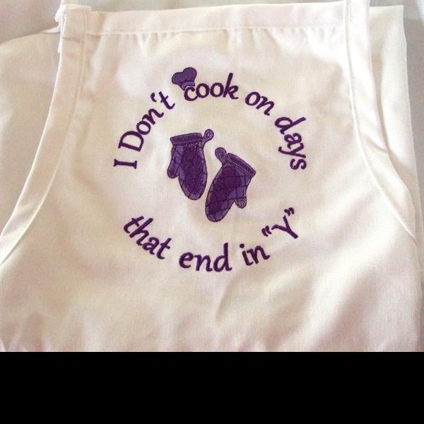 I Don't cook apron