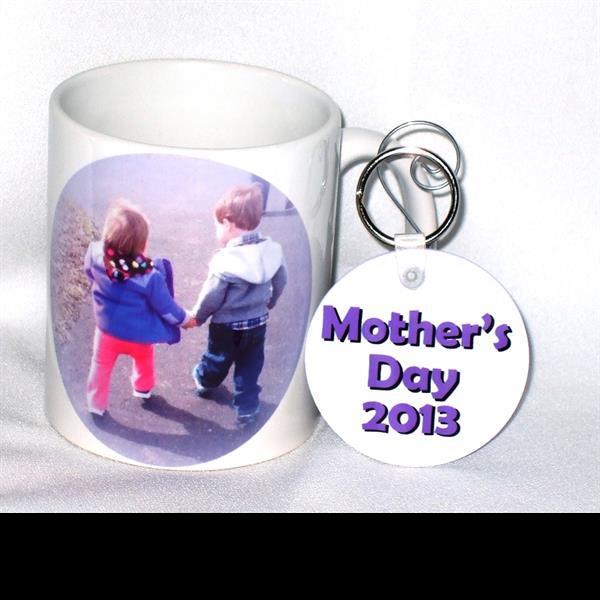 Personalized photo mug & key chain