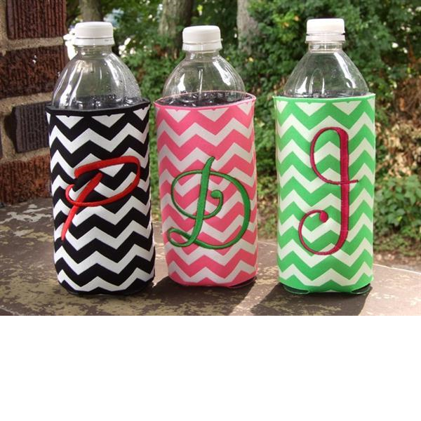 Personalized water bottle koozies