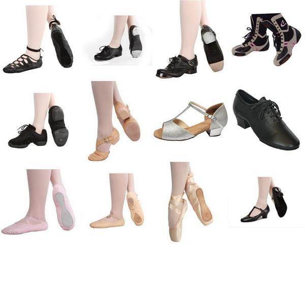 Dance shoes for all styles of dancing