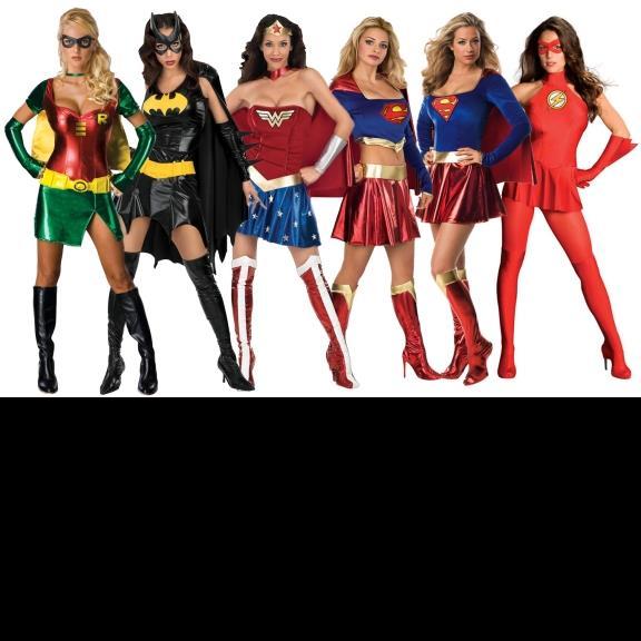 womens super hero costumes