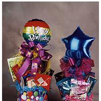 Happy Birthday gift boxes