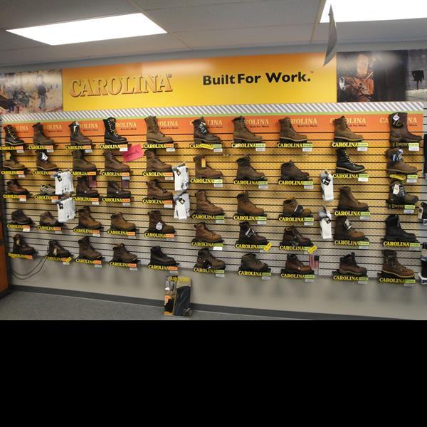Large Carolina Work Boot Selection