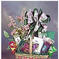 Market Basket filled with savory snacks.