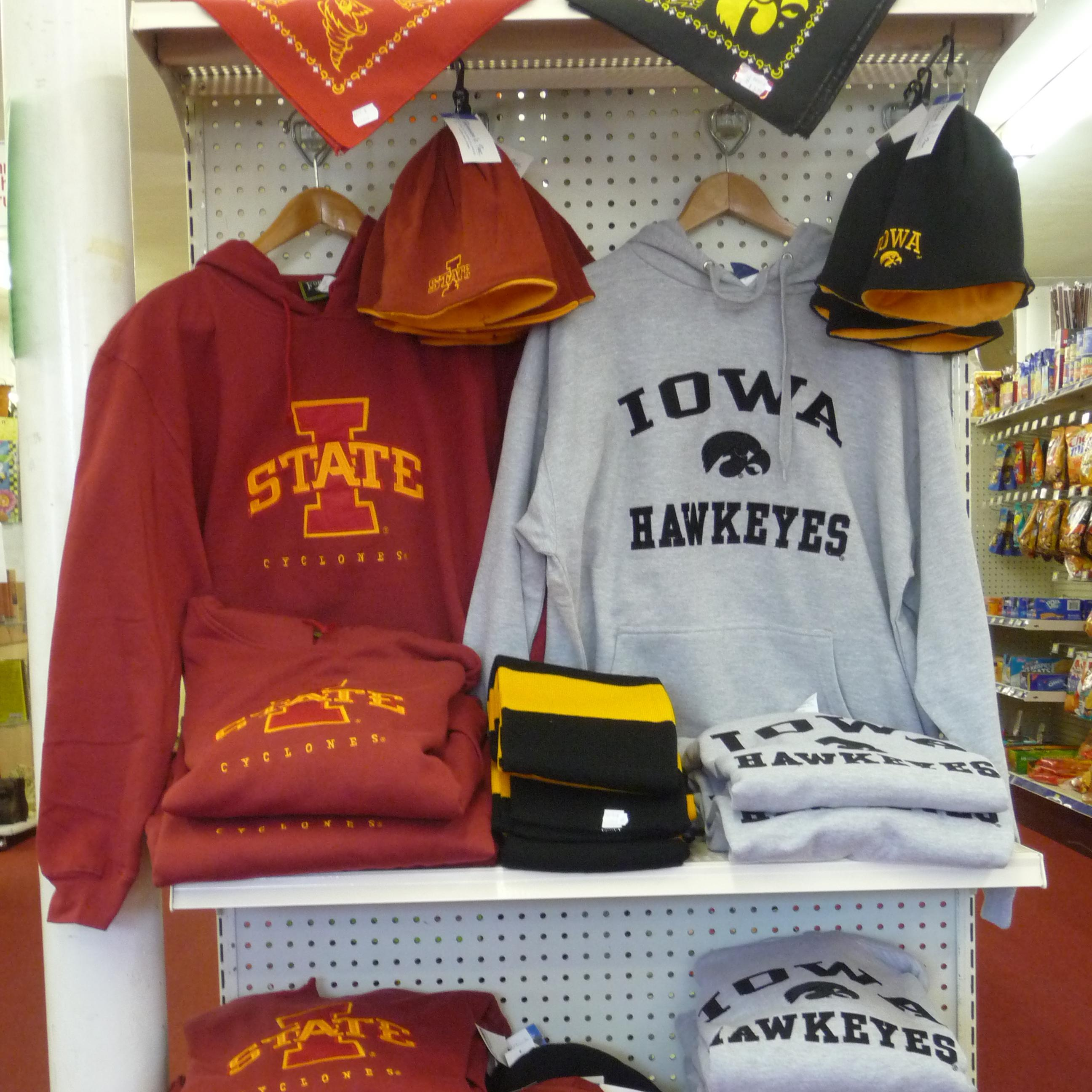 Iowa Iowa State clothing, apparel and giftware