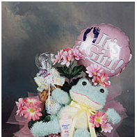 It's a Girl baby gift box