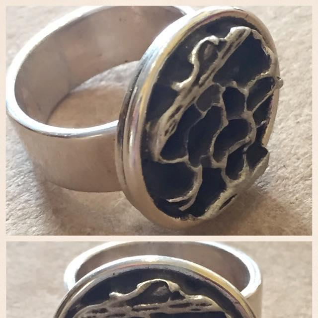 handcrafted ring. made in usa