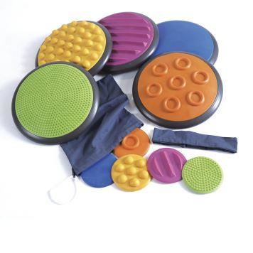 Tactile Discs, Set of 5