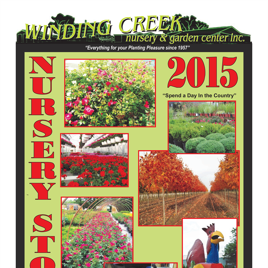 2015 Winding Creek Nursery Stock Catalog