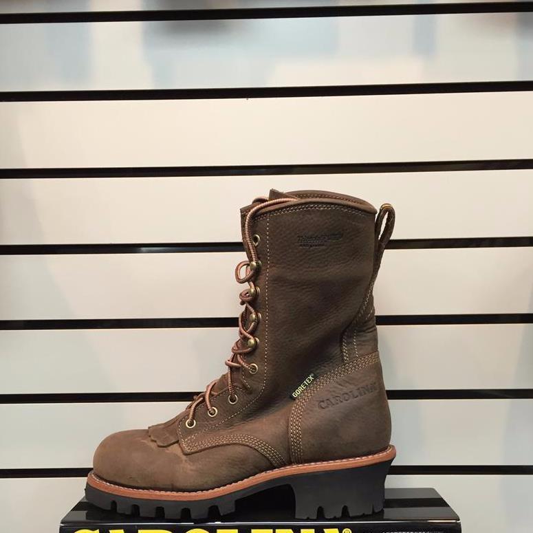Carolina 7519 steel toe logger