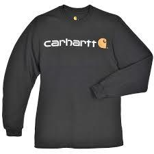 carhartt K298 long sleeved t-shirt graphic