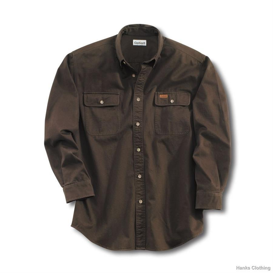 Carhartt S09 heavy weight button up