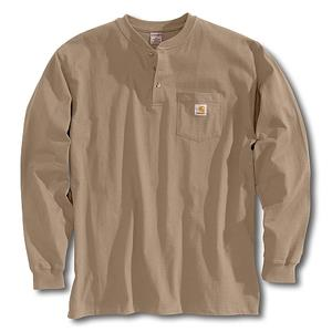 Carhartt K128 long sleeve henley