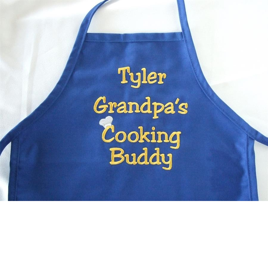 Child's royal apron with custom saying