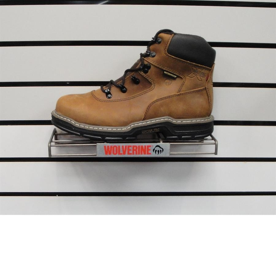 "Wolverine 2161 6"" safety toe boot"