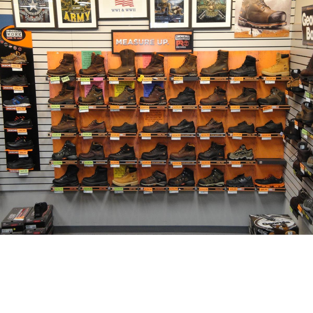 Large Timberland Pro Work Boot Selection