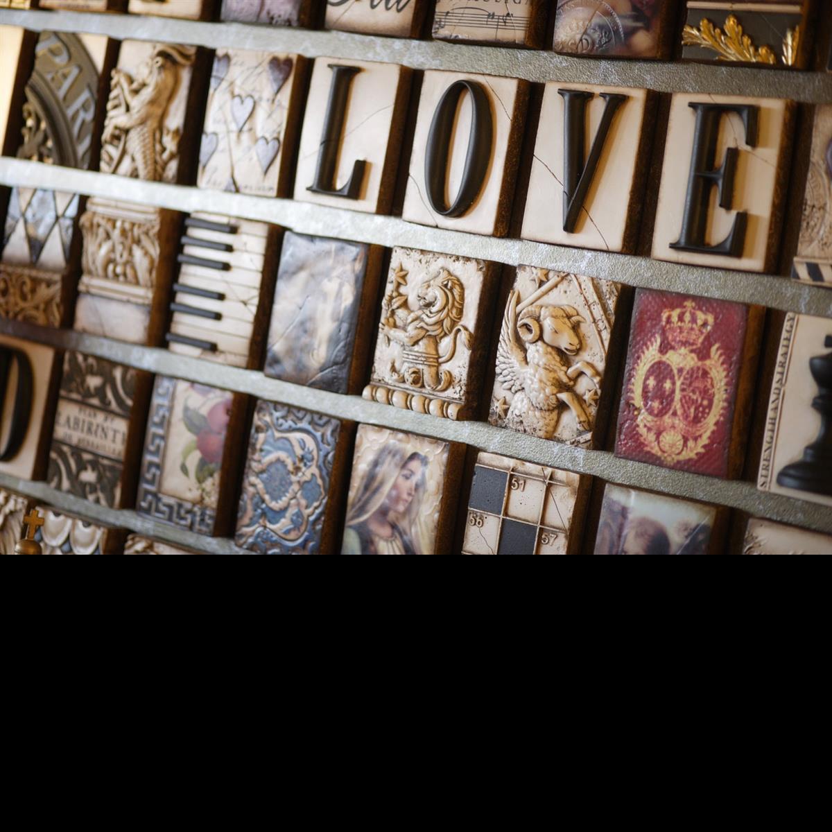 SID Dickens,  Memory Blocks, Tiles, Revive & Company