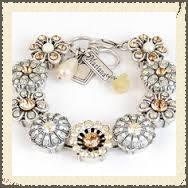 Mariana Swarovski Crystal Bracelet, found at Roberta Weissburg Leathers