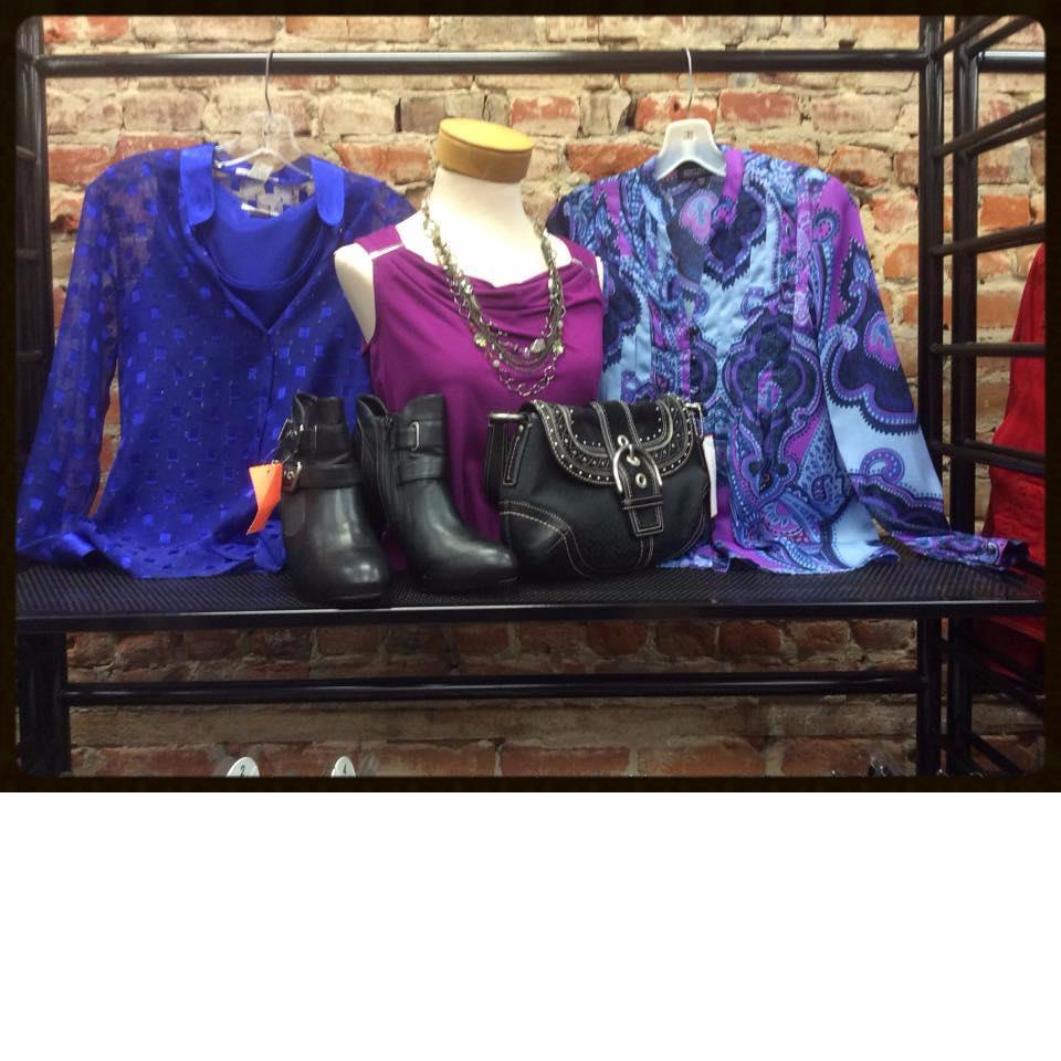 Consigned Women's fashion clothing and accessories at Refashion Consigned Furniture and Clothing