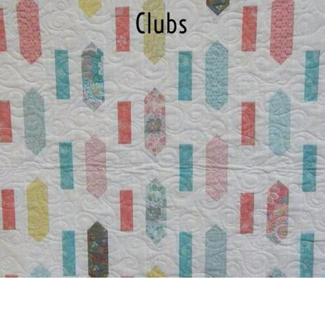 Clubs A Quilted Crow