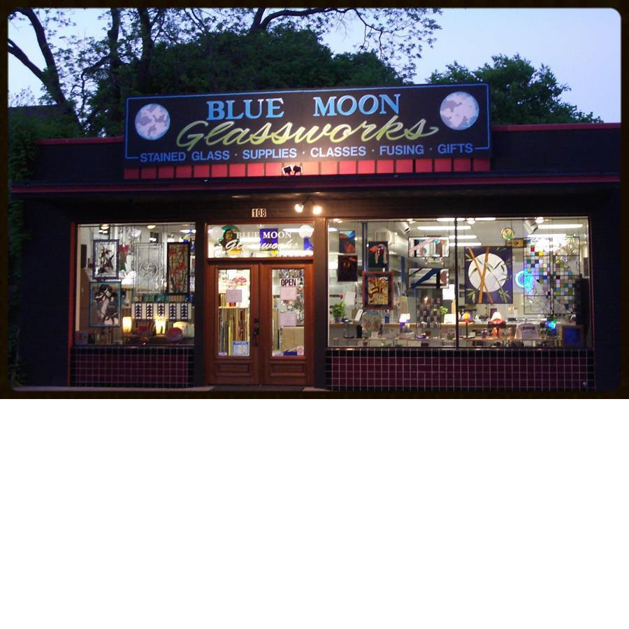 Blue Moon Glassworks Storefront