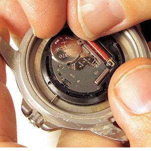 watch repair, battery replacement, band shortening,