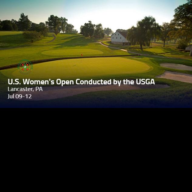 U.S. Women's open LPGA Tour logo golf