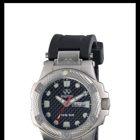 REACTOR Meltdown carbon fiber sports watch