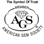 Cameo Jewelers is a member of The American Gem Society.  A Symbol of Trust and Integrity!