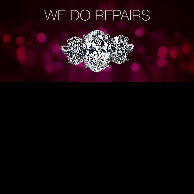 Jewelry Repairs at Cameo Jewelers.