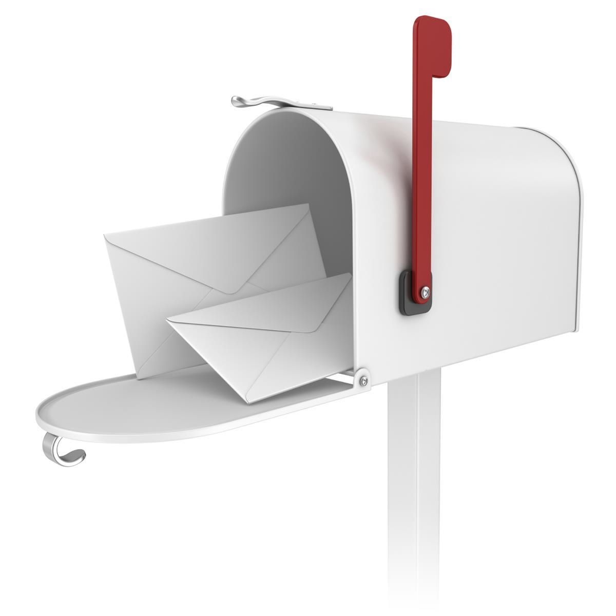Mailbox with Envelopes