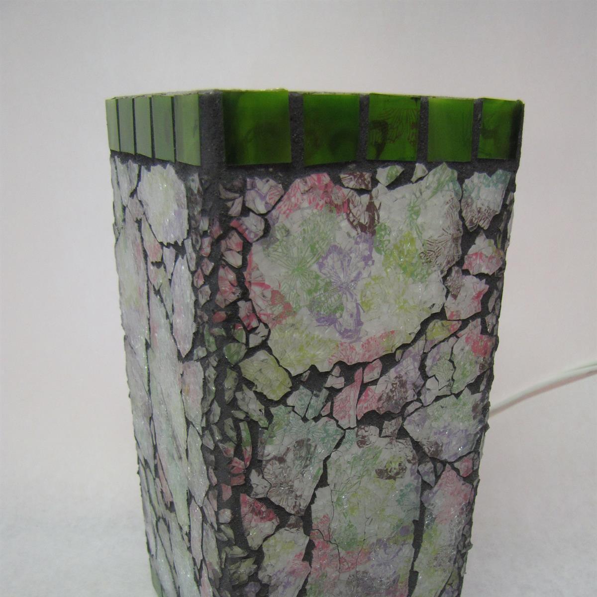 Mosaic Crackle Lantern Class