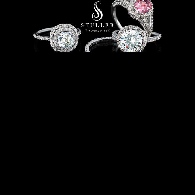 Stuller Rings Diamonds Pink