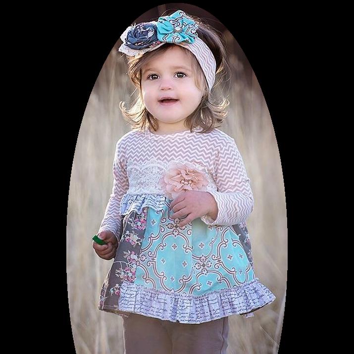 Haute Baby Anna Louise swing set
