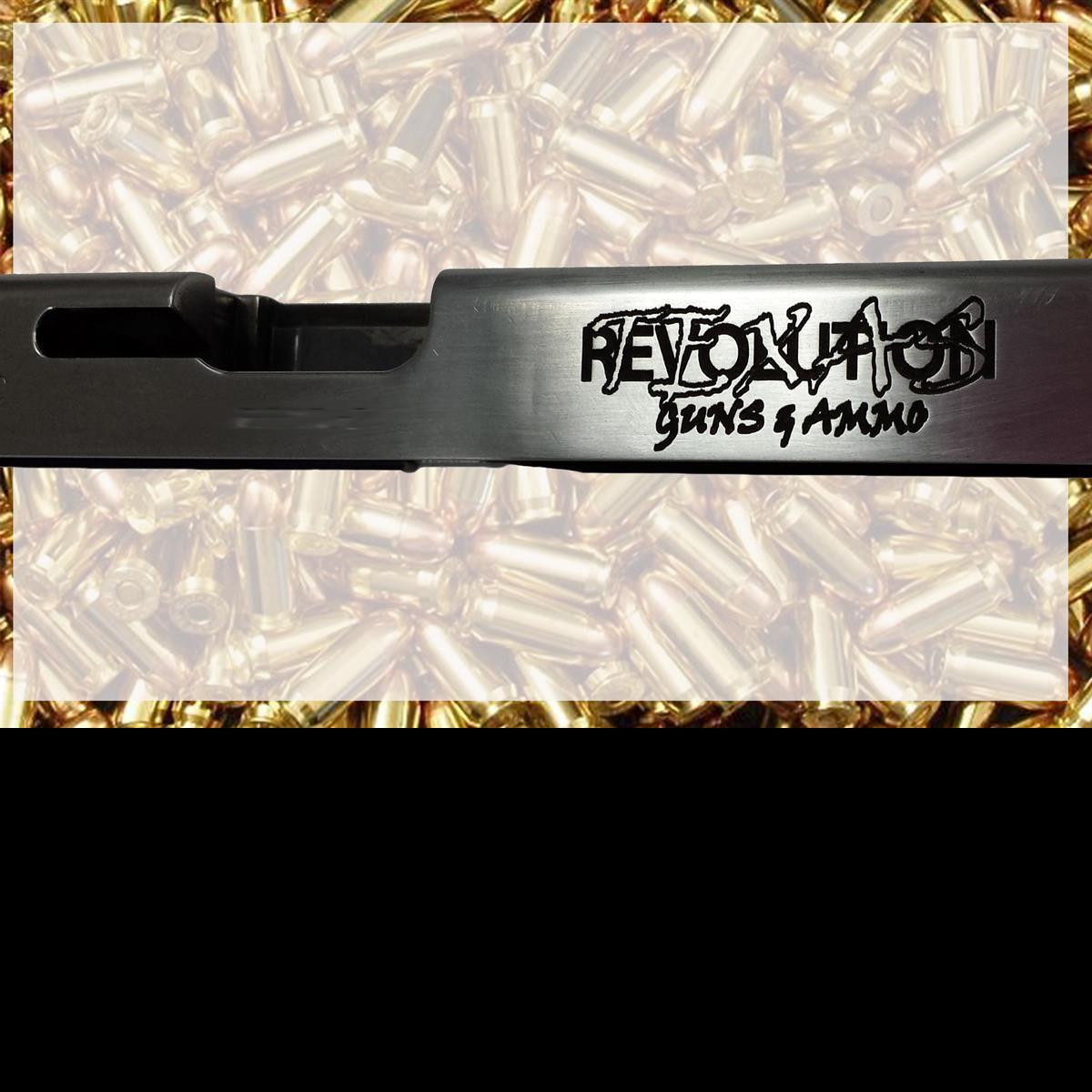 Gun Slide engraving company logo