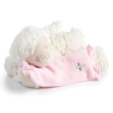 Now I Lay Me Down to Sleep Pink Lamb