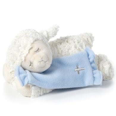 Now I Lay Me Down to Sleep Blue Lamb