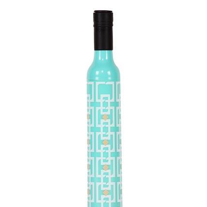 Vintage Turquoise Bottle Umbrella