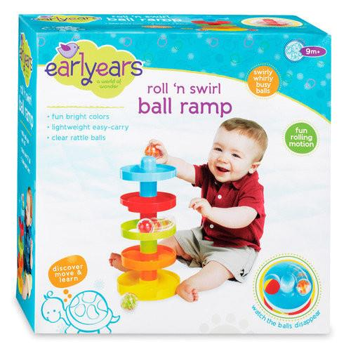 Roll 'n Swirl Ball Ramp