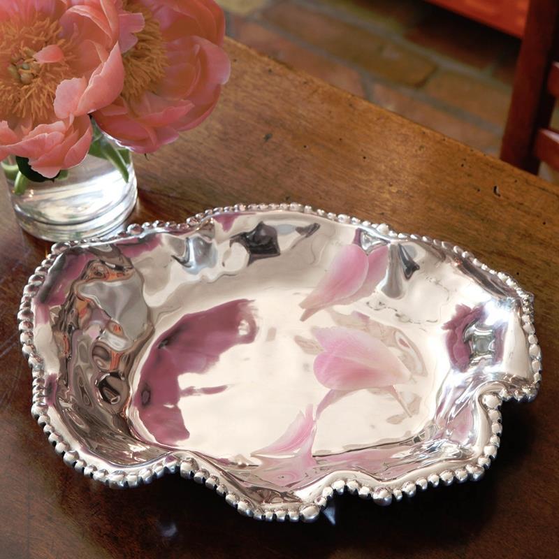 Organic Pedarl Oval Platter