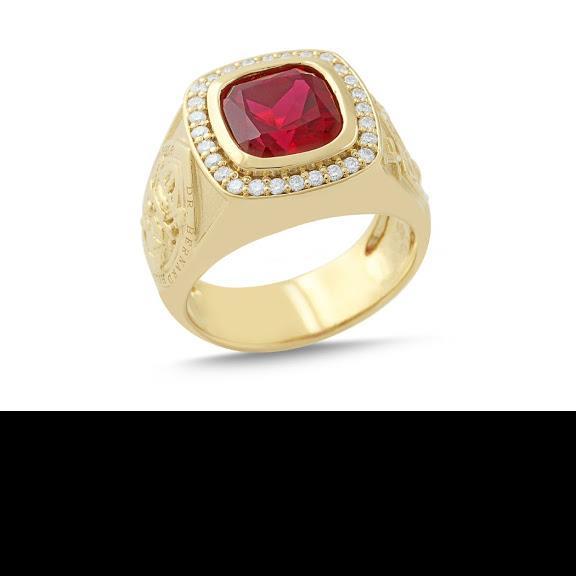Custom Designed Bishop's Ring