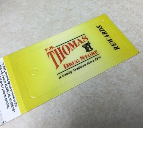 Customer Loyalty Program Thomas Drug Store