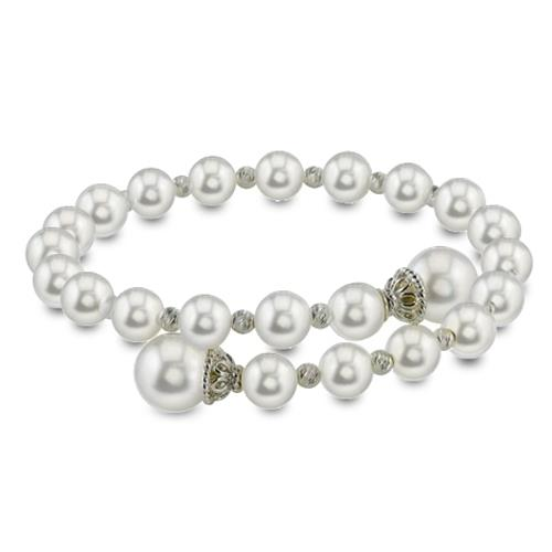 Fresh Water Pearl and Sterling Silver Bracelets