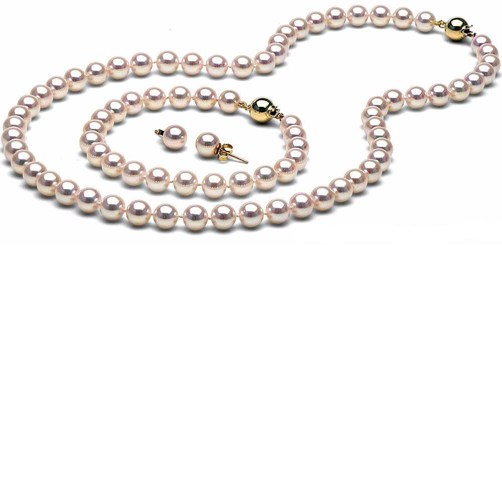 Pearl Jewelry featuring Akoya and Freshwater pearls in strands, necklaces, pendants, bracelets and earrings