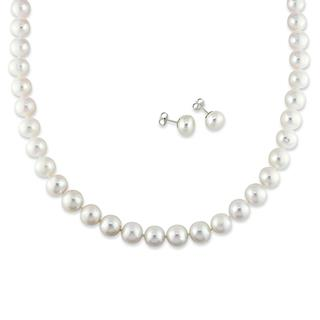 Freshwater Pearl Strands, Necklaces and Stud Earrings