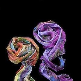 One Wing Studio_Silk_Hand-dyed scarves