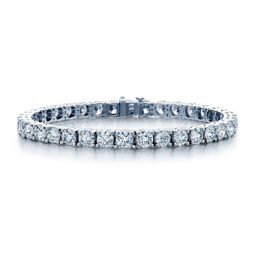 Diamond Tennis Bracelet in 14K White Gold