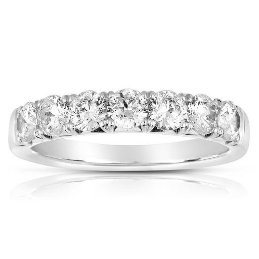 Diamond Anniversary Band in 14 K White Gold